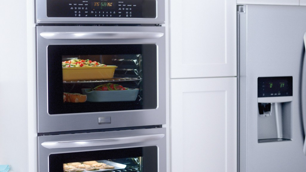 Frigidaire Gallery double ovens