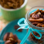 Handmade with love: pumpkin pie spiced pecans