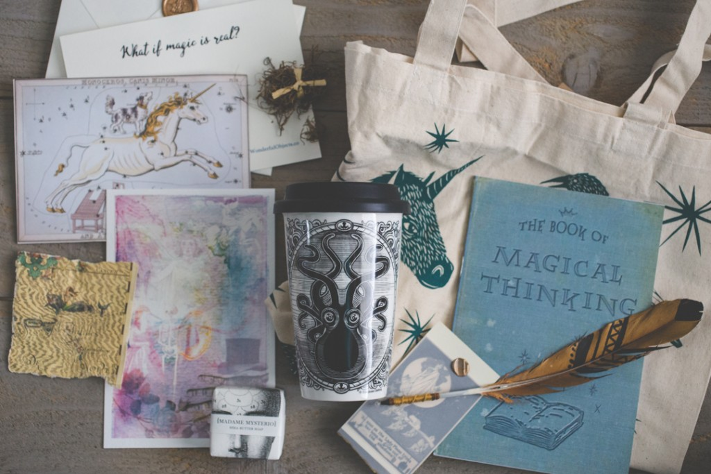 Wonderful Objects subscription boxes filled with imagination