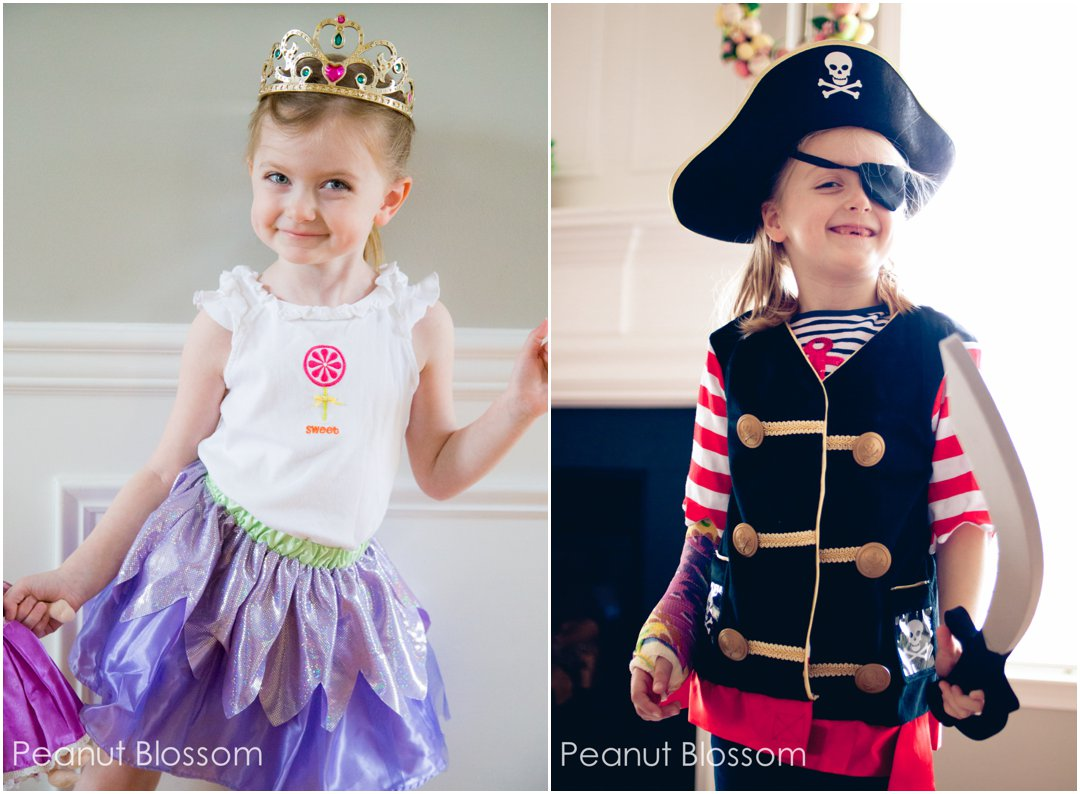Why pick? She can be a pirate AND a princess.
