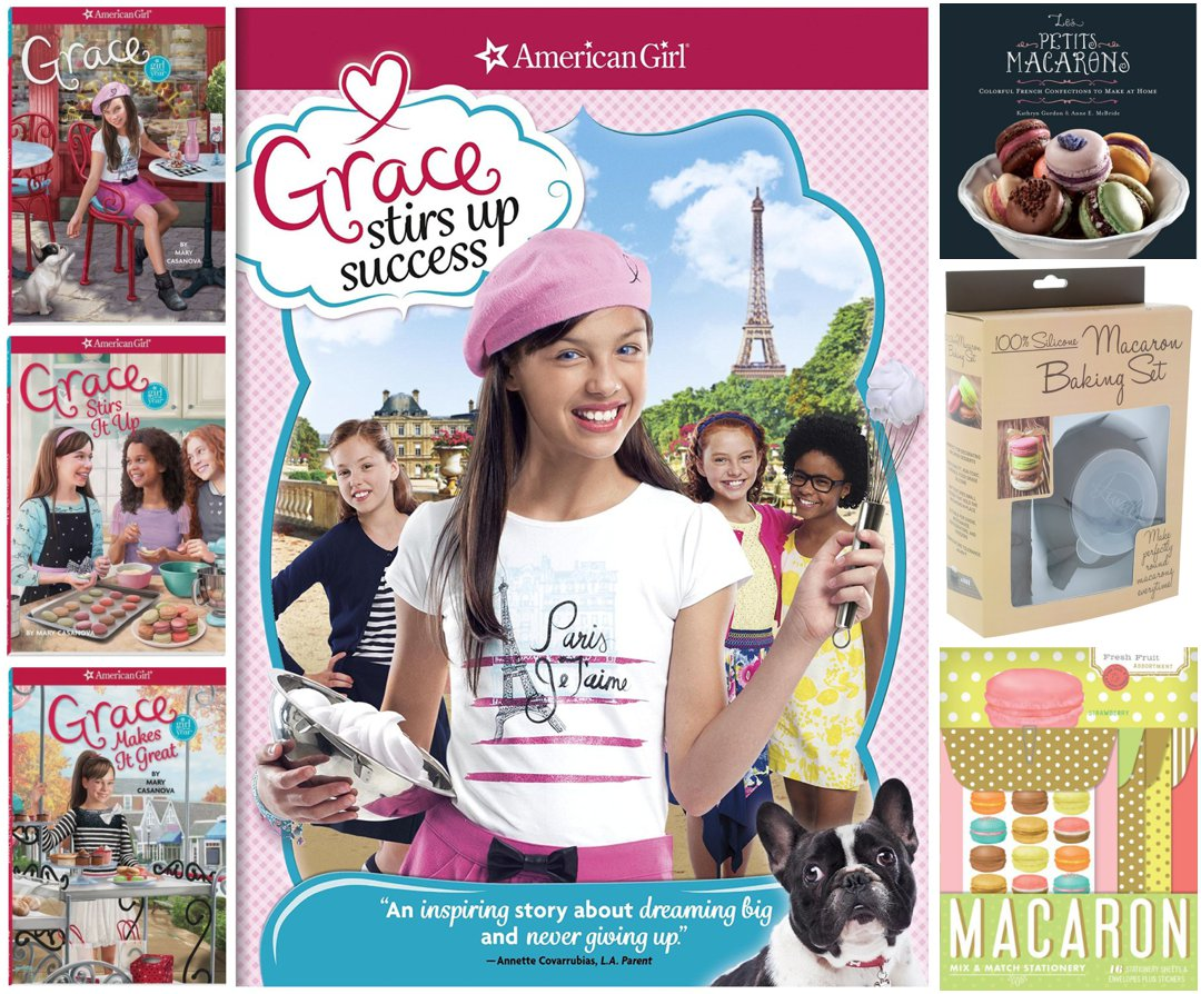American Girl Grace books, DVD, and holiday gift ideas