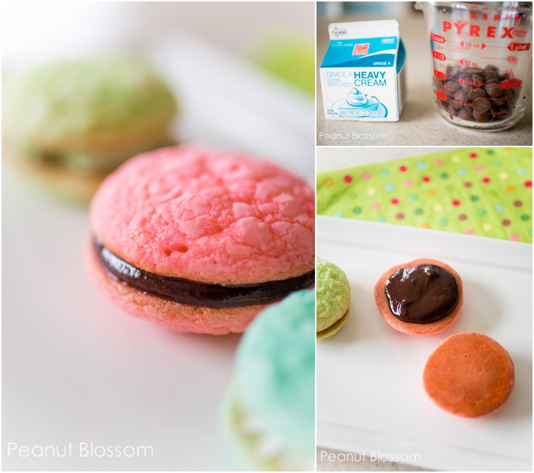 Host an American Girl Grace movie party and serve homemade kid-friendly macarons in three flavors