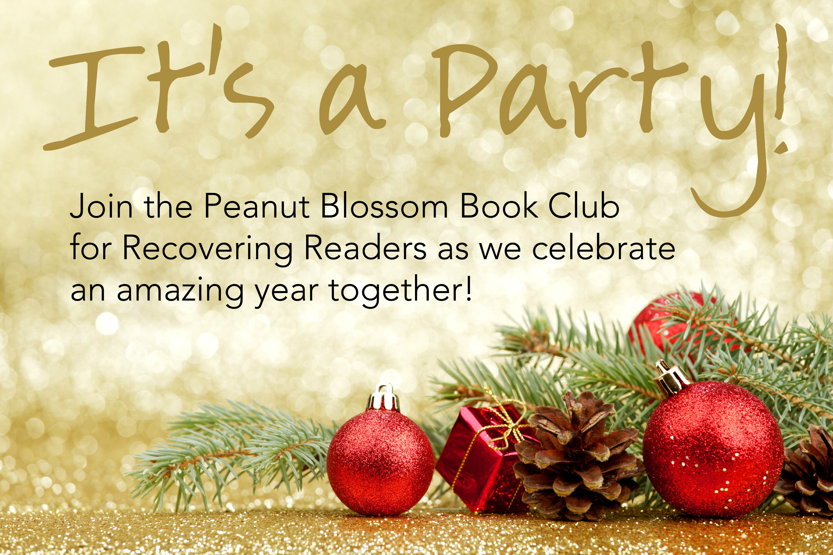 It\'s a Party! Join our online book club year end celebration!
