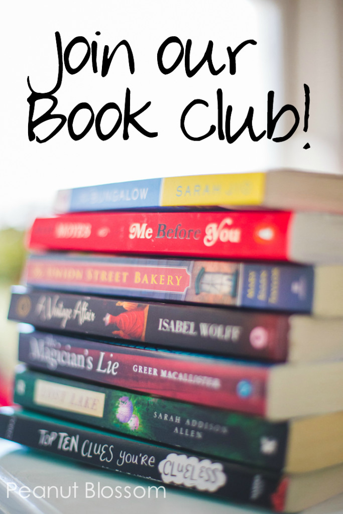 Peanut Blossom's Book Club for Recovering Readers