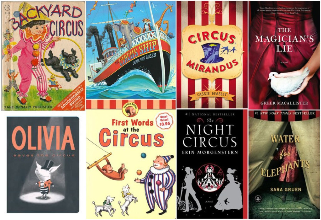Books about the circus for the whole family