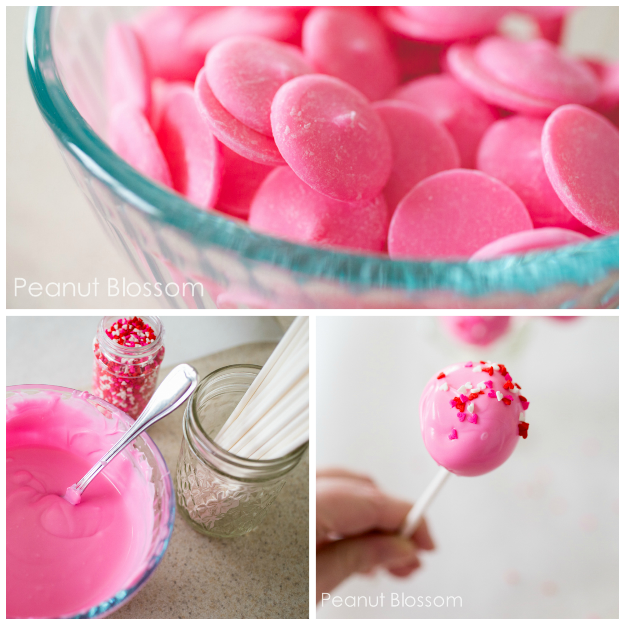 Be careful how you work with melted candy coating. Heat it in the microwave in batches of 30 seconds and stir!!