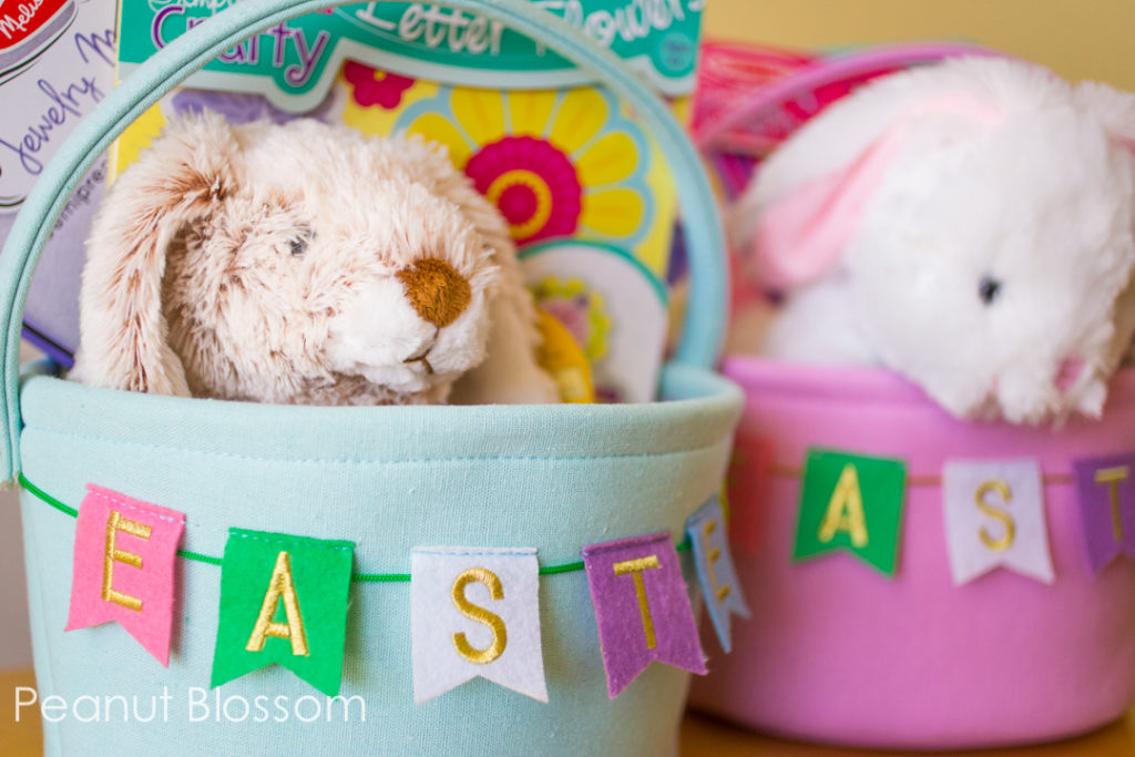 Adorable fun Easter basket ideas for girls