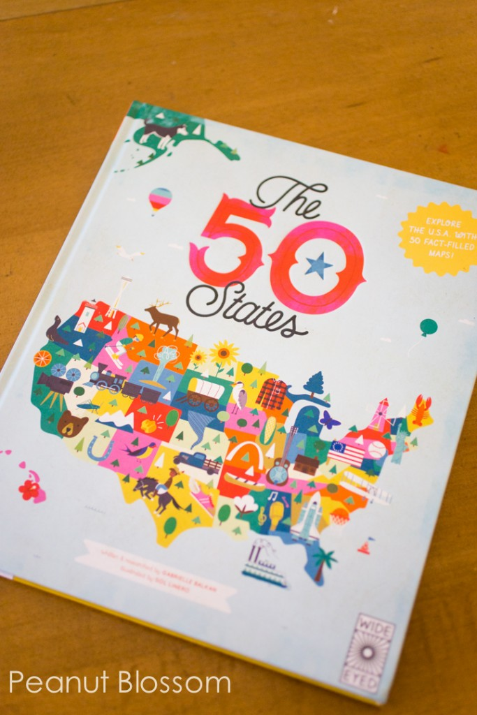The 50 States: a whimsical atlas for children