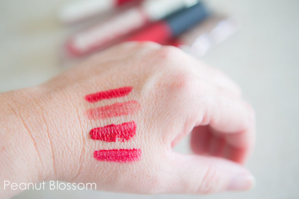 The perfect red lip gloss for Rosacea