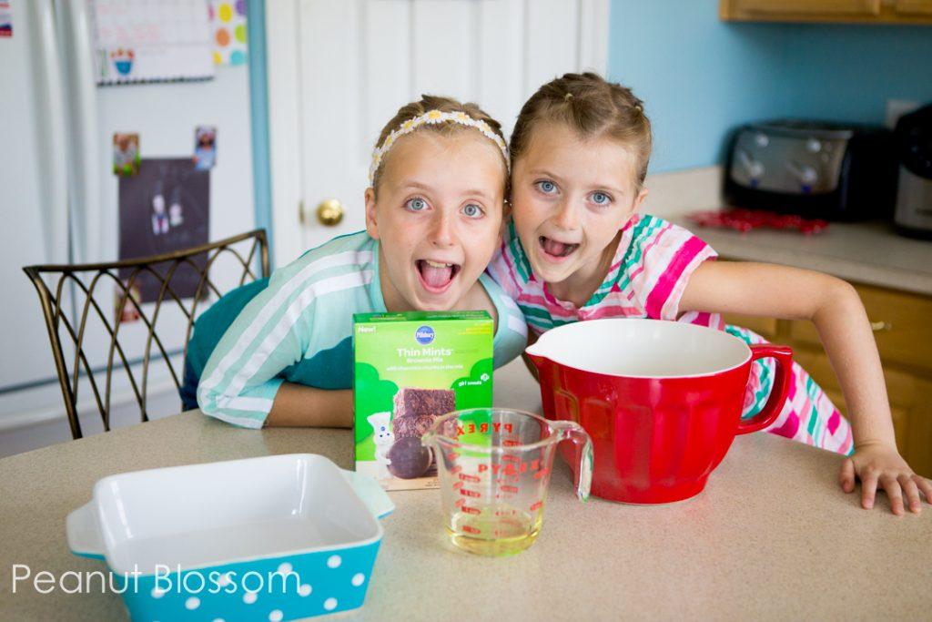 Pillsbury™ Girl Scouts® Baking Mixes