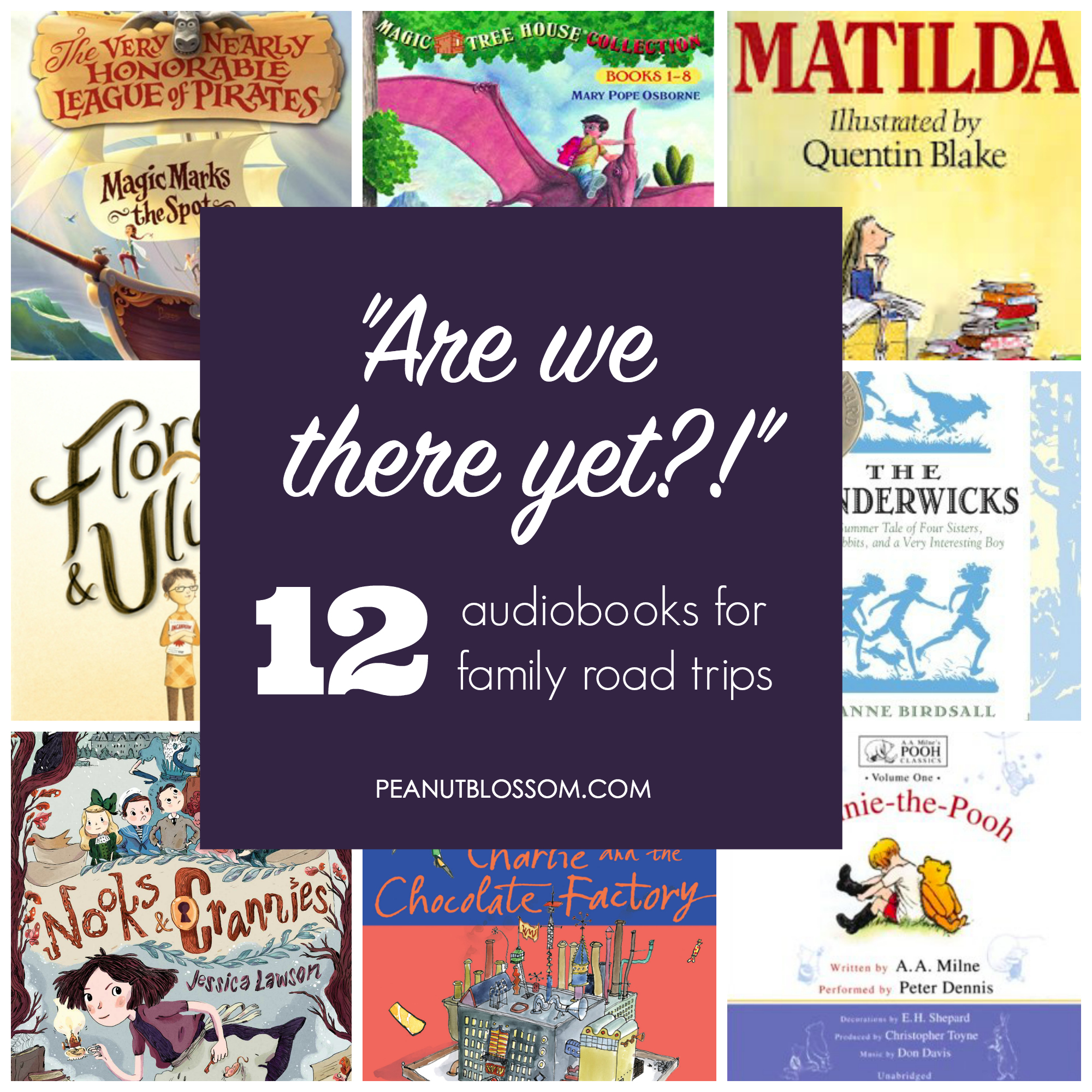 12 best audiobooks for families on road trips
