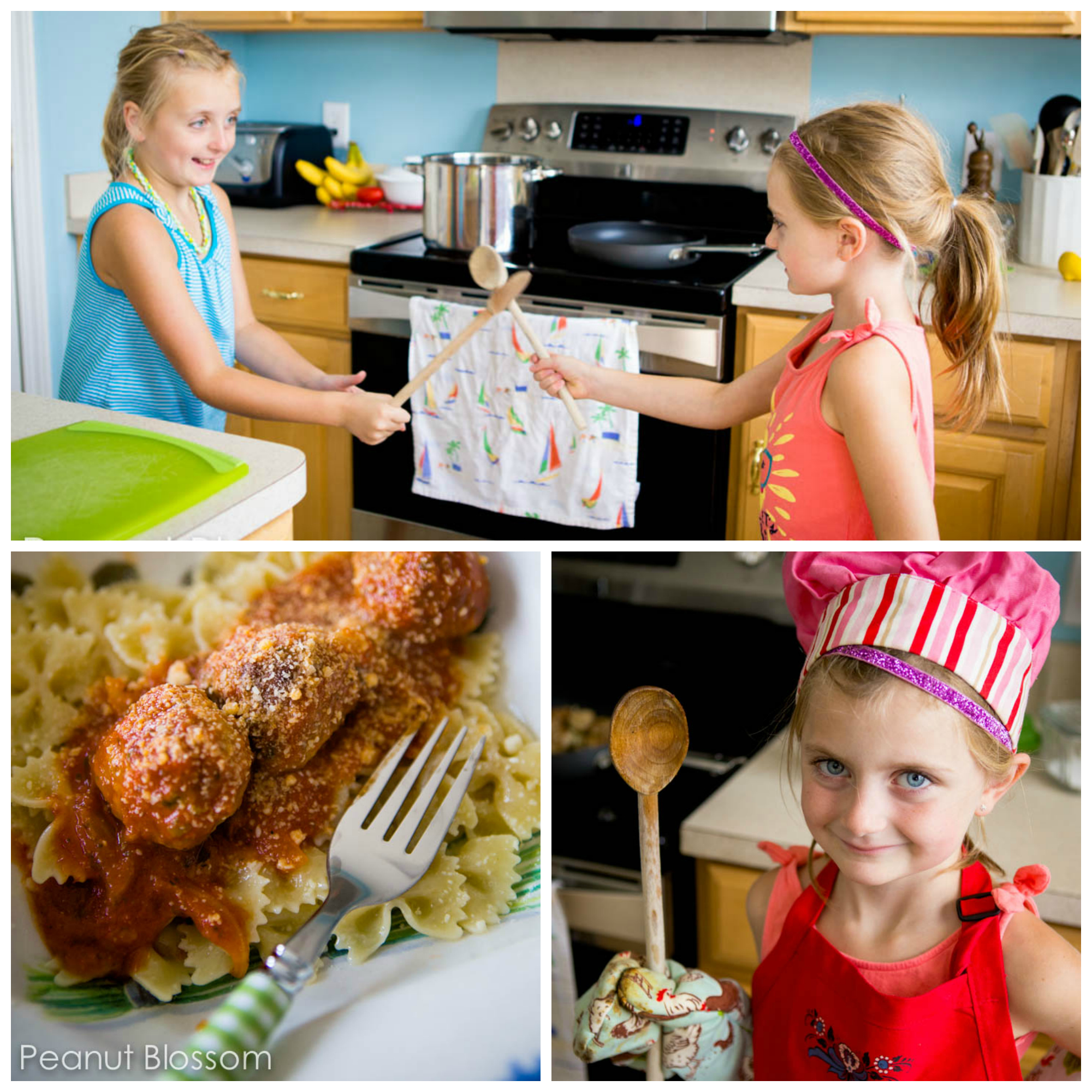 How to get kids cooking in the kitchen