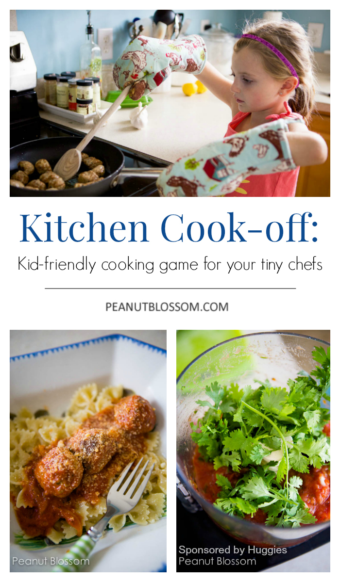Fire up the stove and get ready to rumble! Kitchen Cook-off for Kids