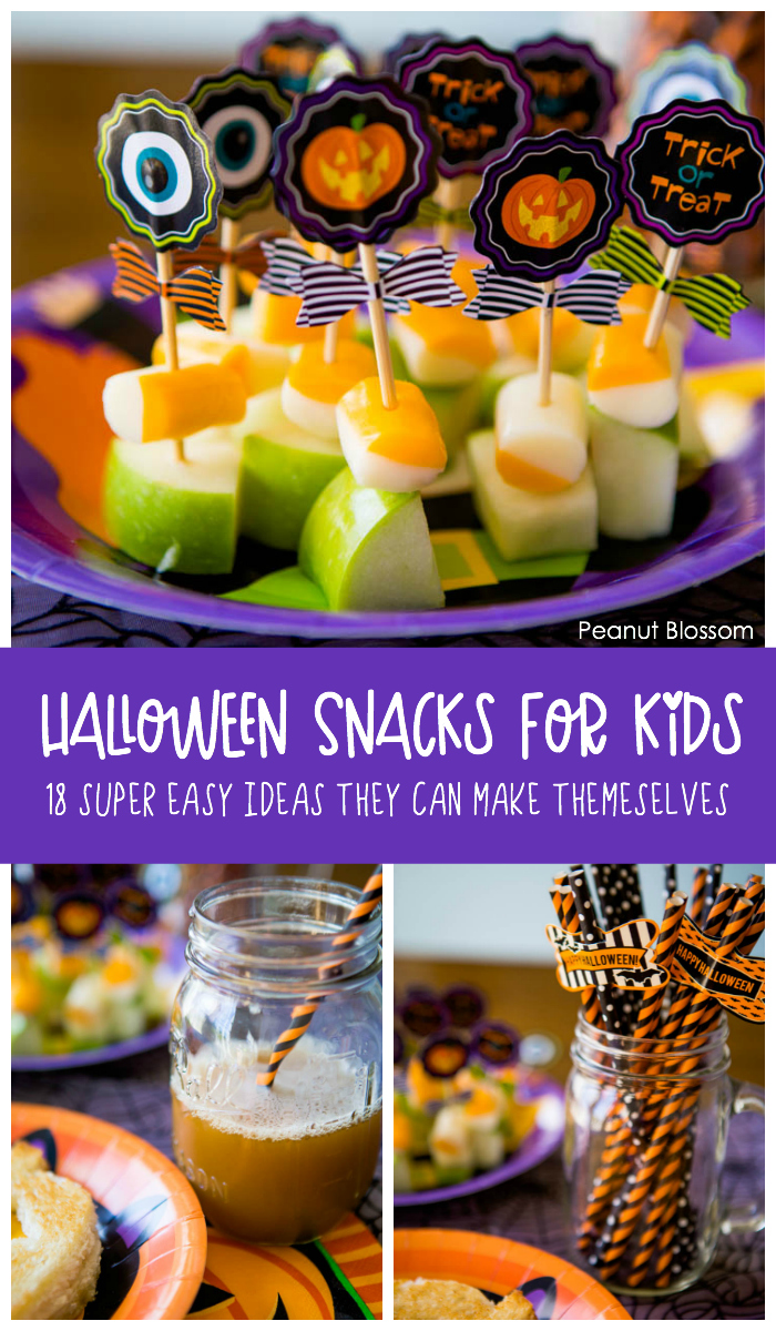 Easy Halloween snacks for kids: Simple treats they can make themselves
