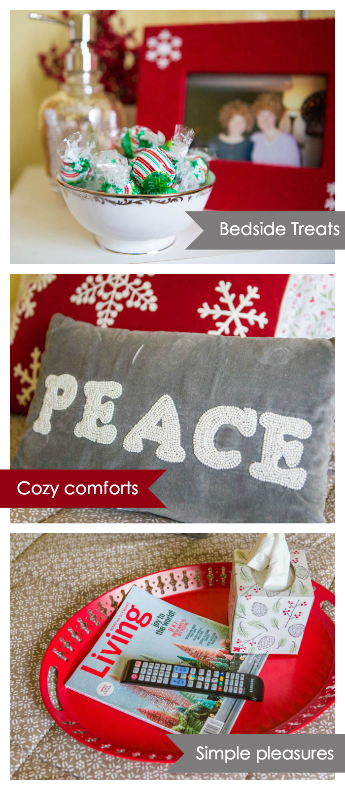 20 personal and festive guest room ideas for the holidays