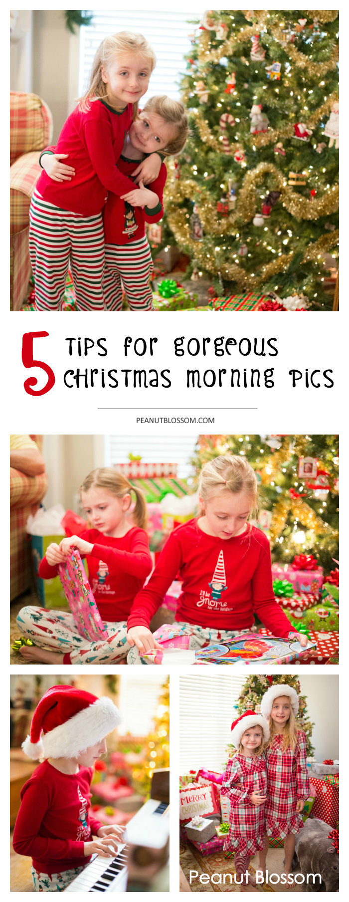 5 tips for taking the best Christmas morning photos ever
