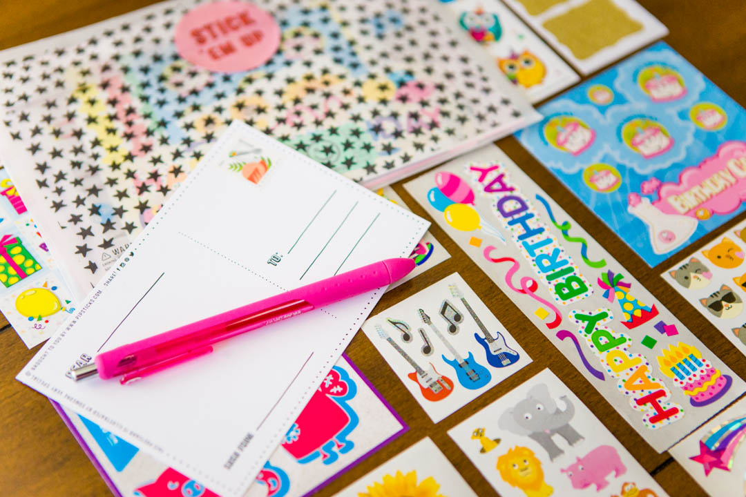 Resolve to spread joy with happy mail for those you love