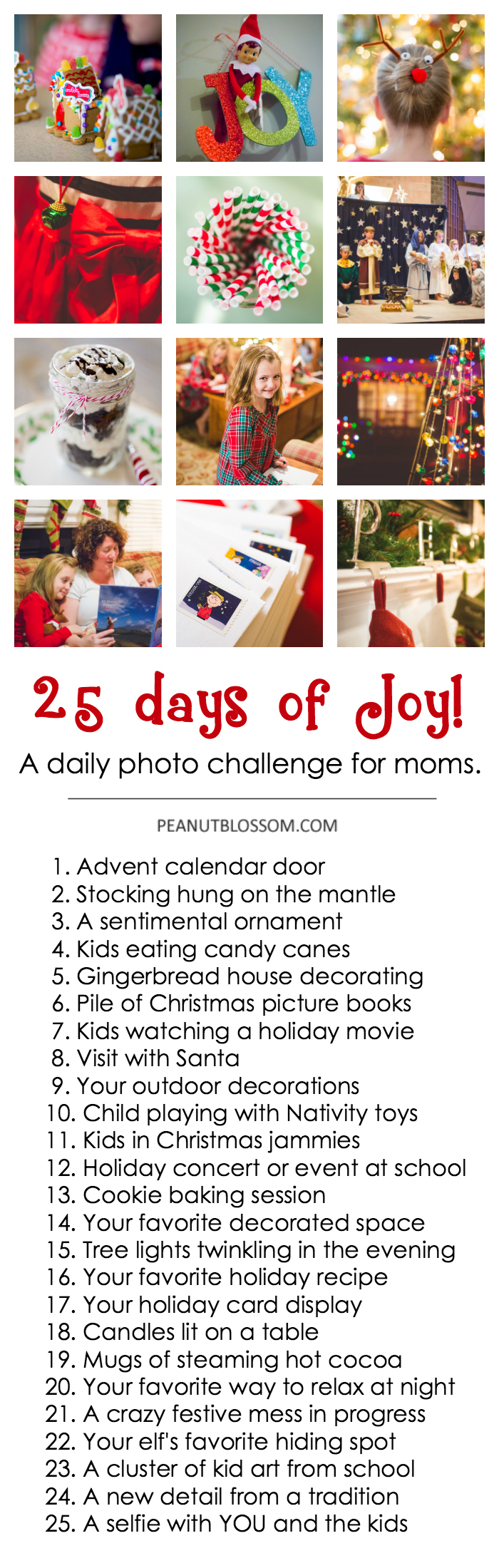 25 Days of Joy: a photography project for moms
