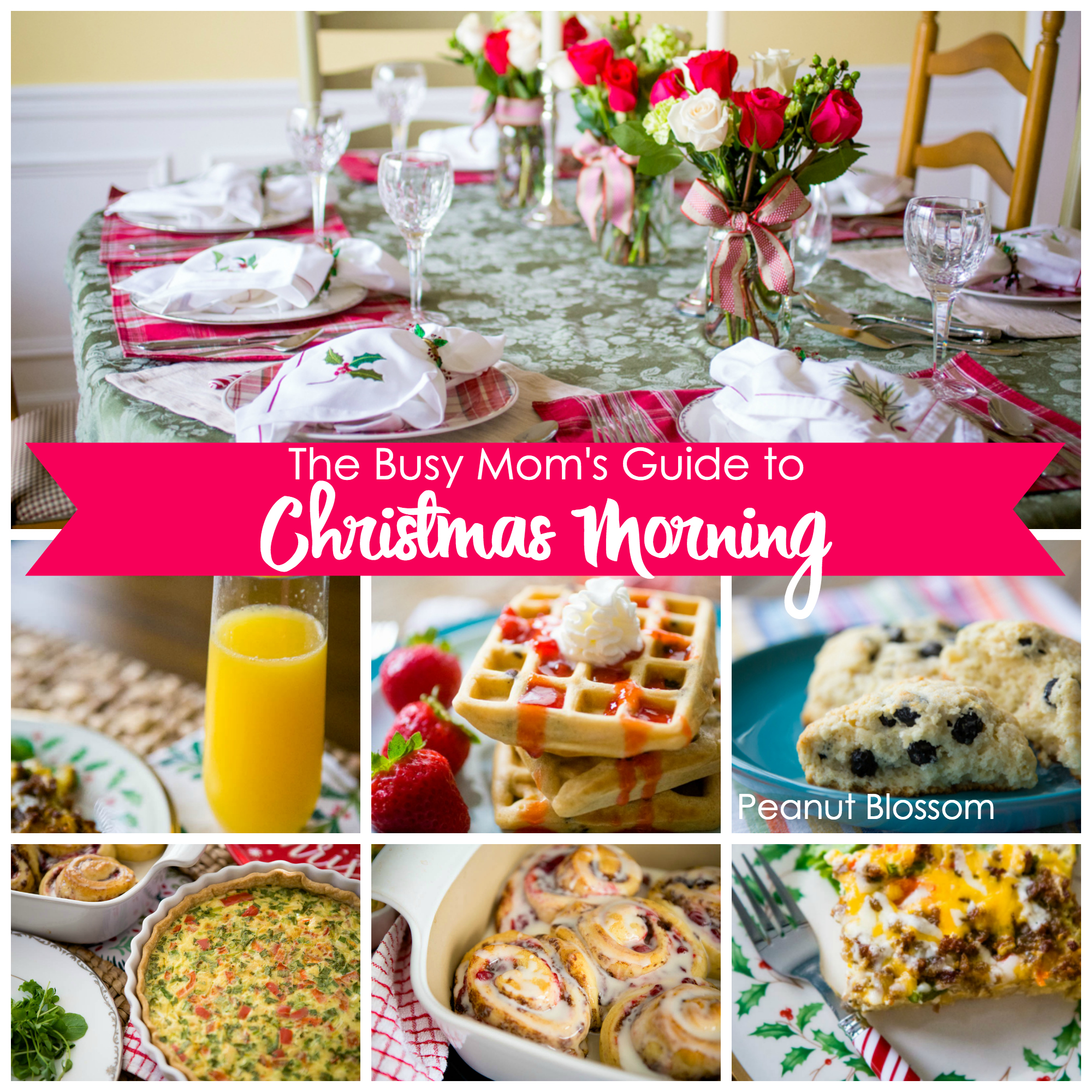 The busy mom's guide to Christmas brunch: easy recipes, decorating tips, and how to prep it all in advance