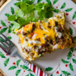 Cheese and Sausage Breakfast Casserole: Holiday brunch in a pinch