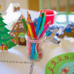 Grab these quick items for the cutest Christmas kids table decorations