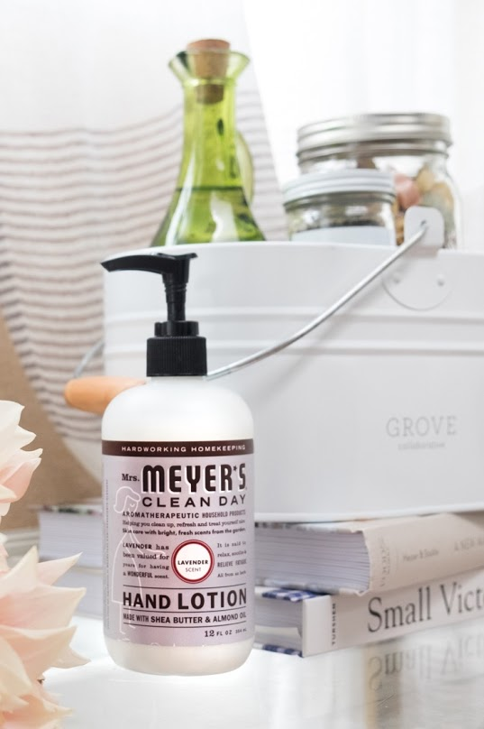 Get a free Mrs. Meyers gift set with $20 purchase