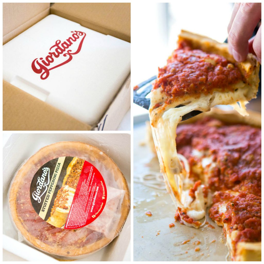Giordano Pizza delivery: a review of a classic Chicago treat