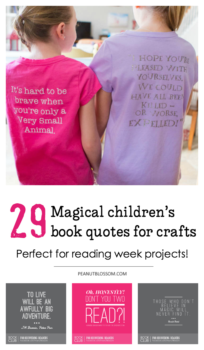 29 magical childrens book quotes for crafting projects