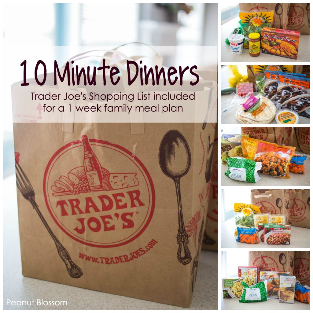10-minute Trader Joe's meals: the best busy night dinners in a hurry!