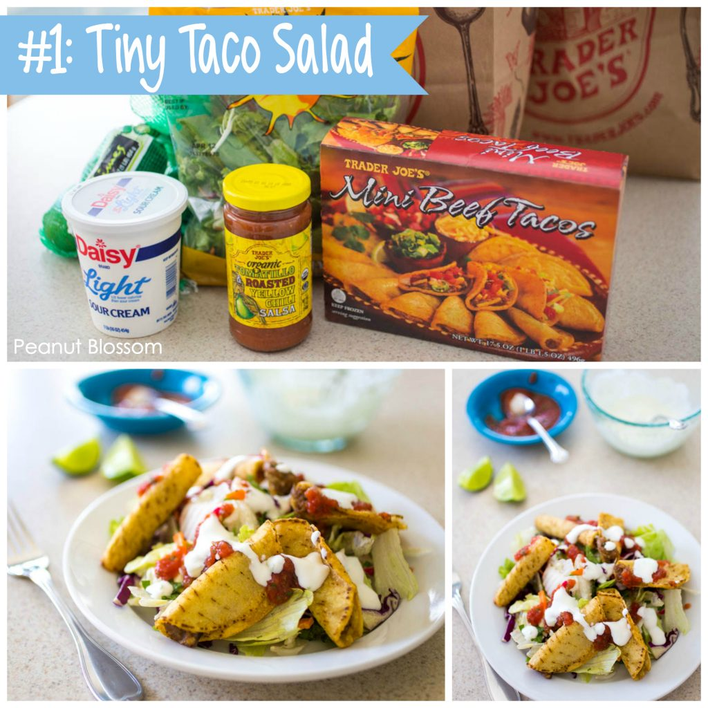 Best Trader Joe's meals: #1 Tiny Taco Salad