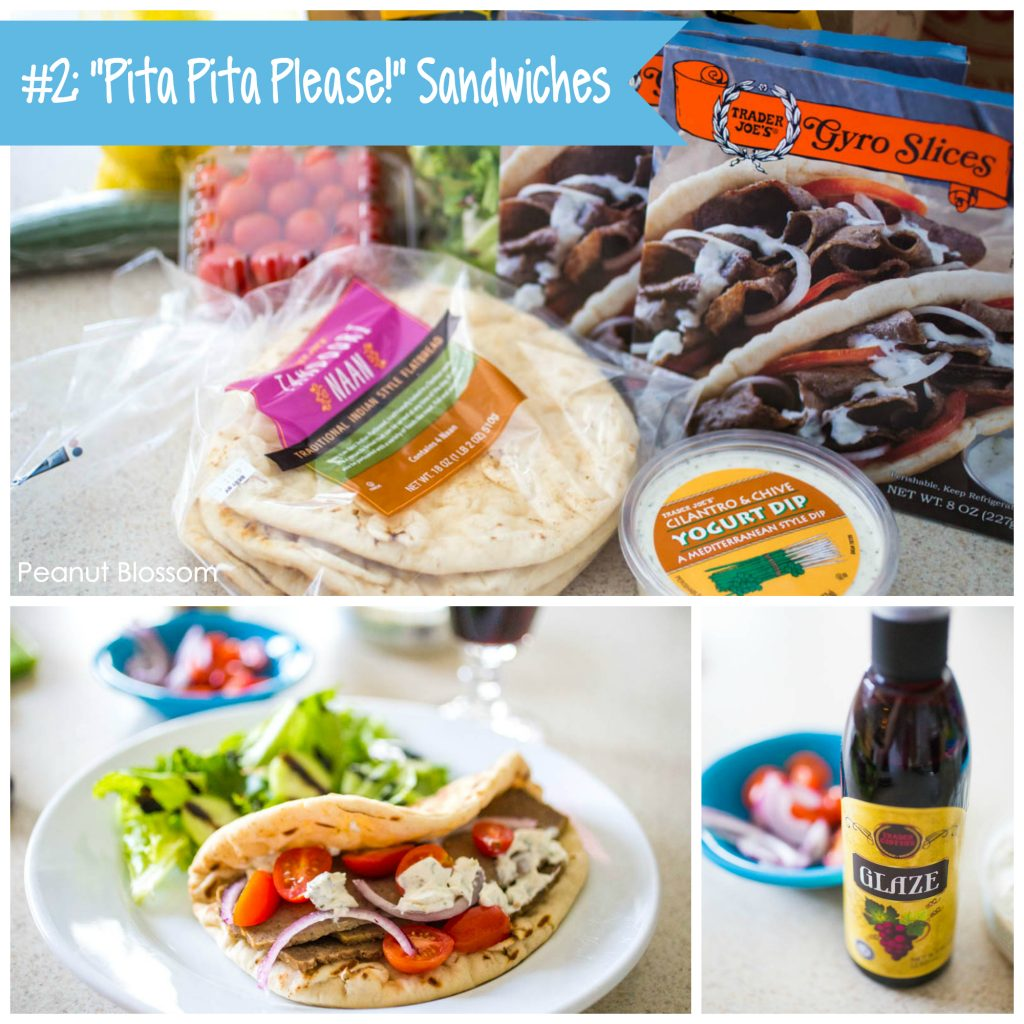Best Trader Joe's meals: Gyro pita sandwiches