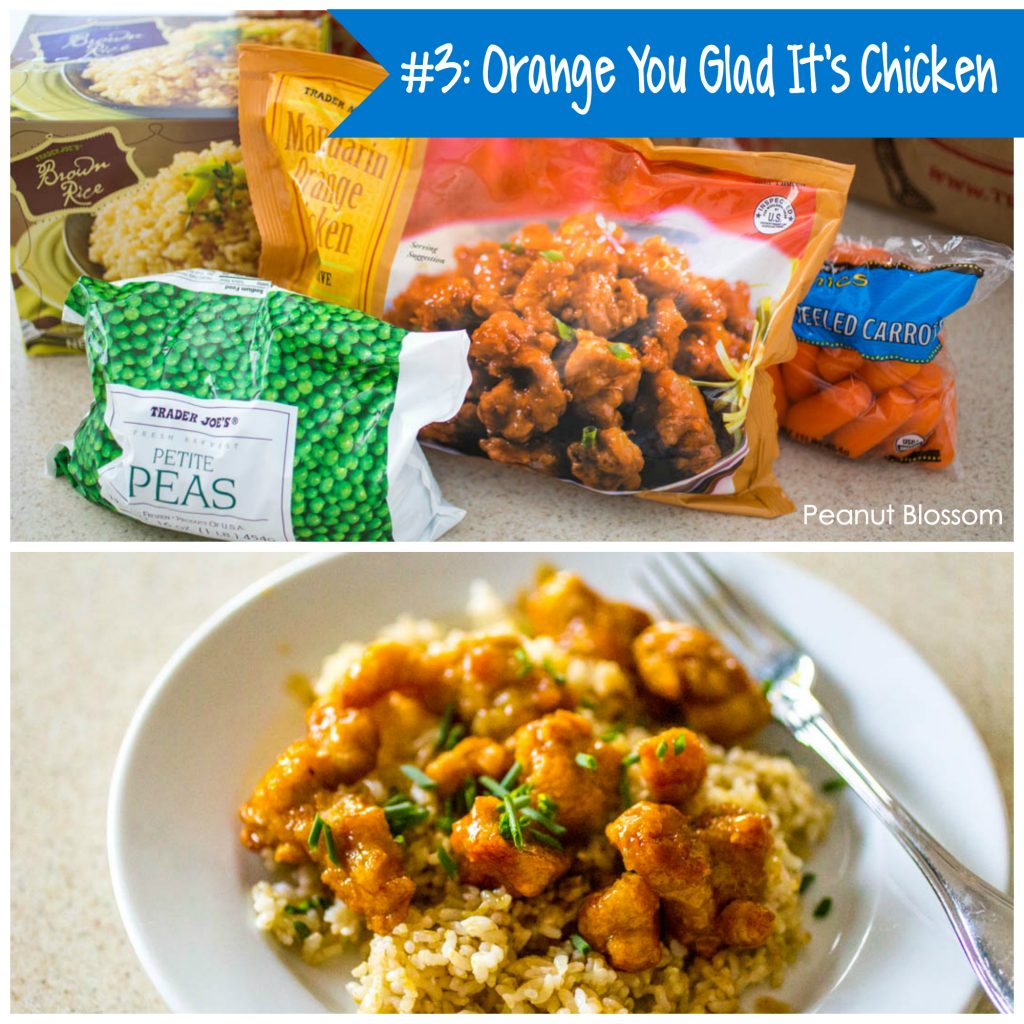 Best Trader Joe's meals: Orange You Glad It's Chicken