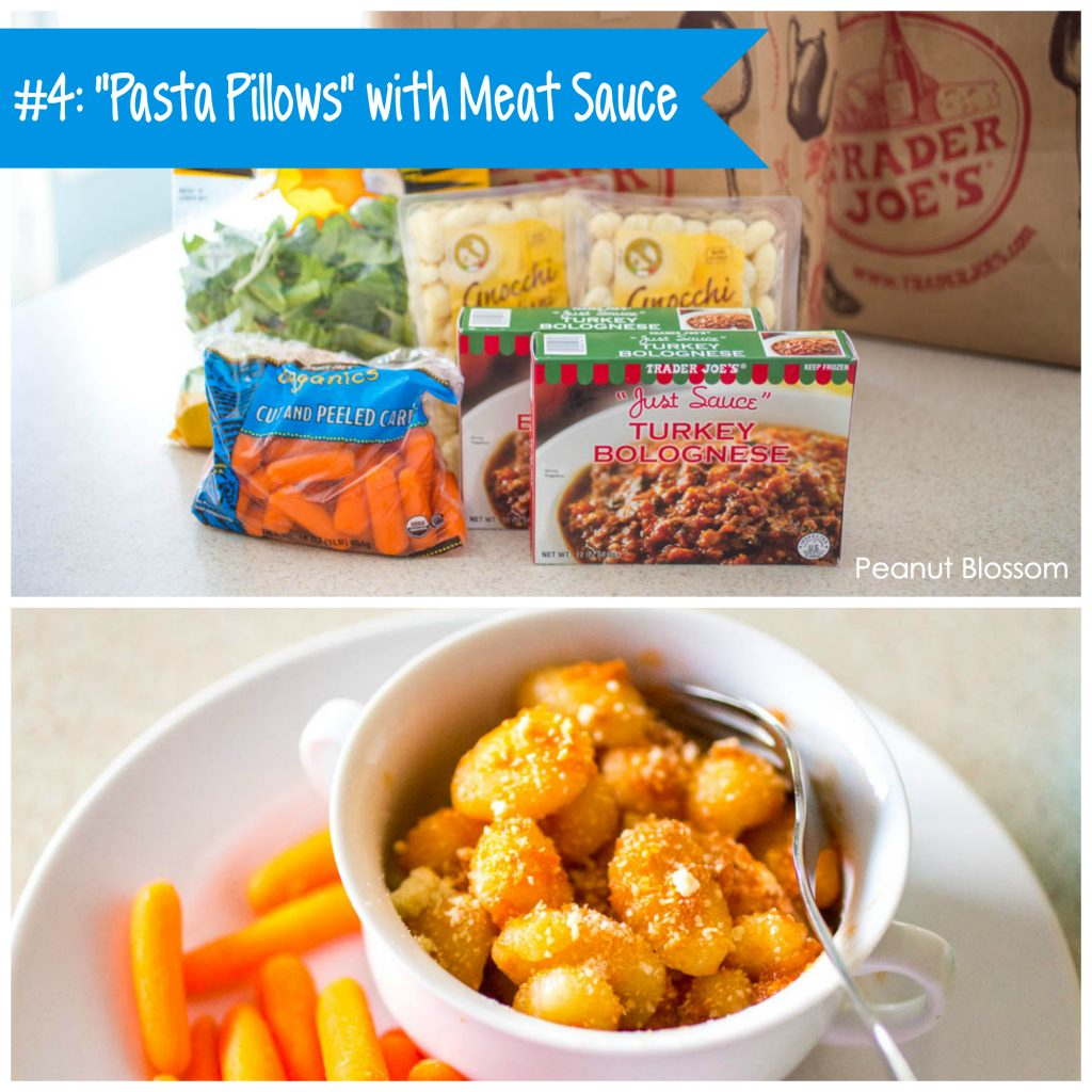 Best Trader Joe's meals: Gnocchi with Turkey Bolognese