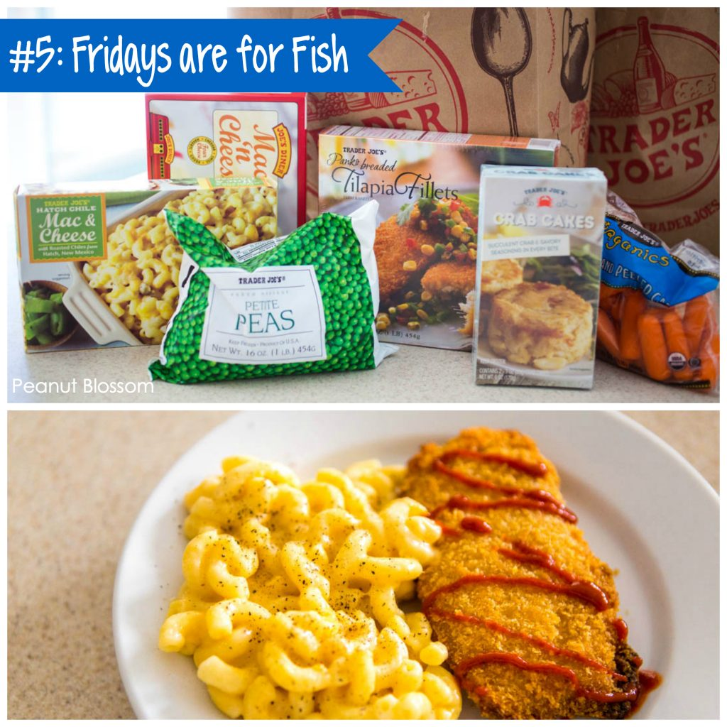 Best Trader Joe's meals: Baked tilapia with macaroni and cheese