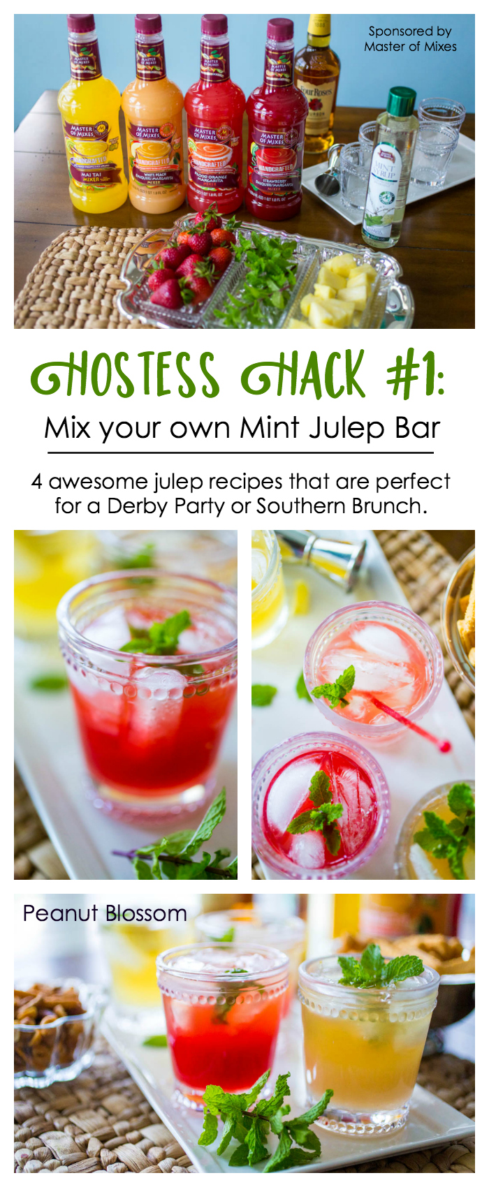 10 hostess hacks for the easiest Kentucky Derby Party ever: Mix your own mint julep bar!