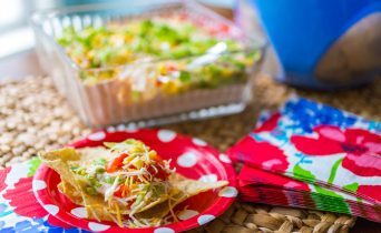 Mom's Kitchen Secrets for making the best ever spicy taco dip