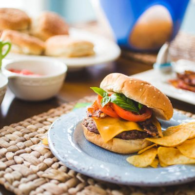 Just the way he likes it: A Father's Day cheeseburger bar