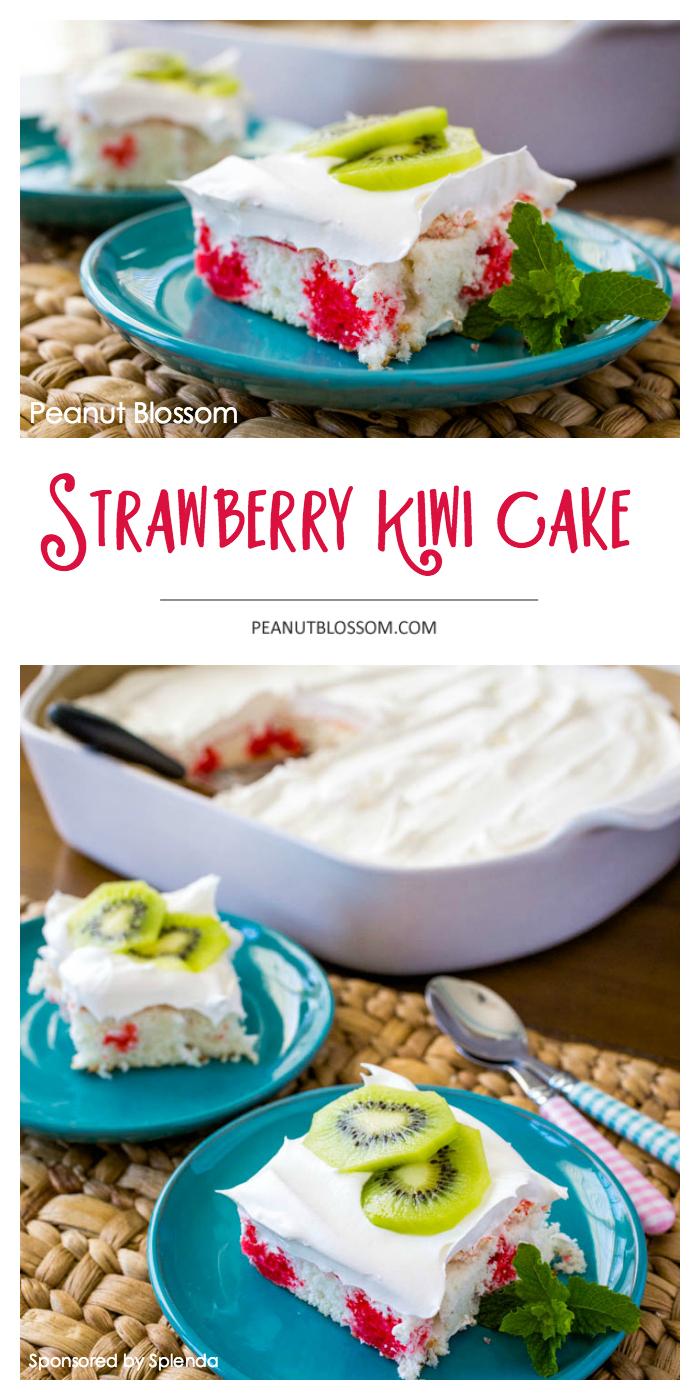 Strawberry Kiwi Cake