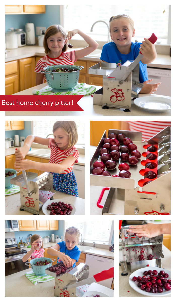 30 fresh cherry recipes that kids can help make this summer.