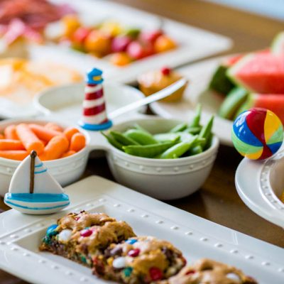 5 minute party menus: Easy entertaining all year long