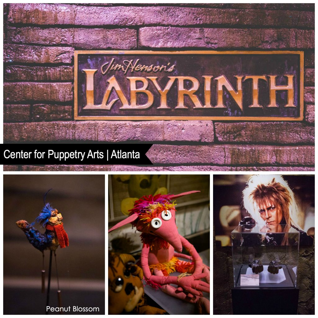 Jim Henson's Labyrinth puppets on display at the center for puppetry arts