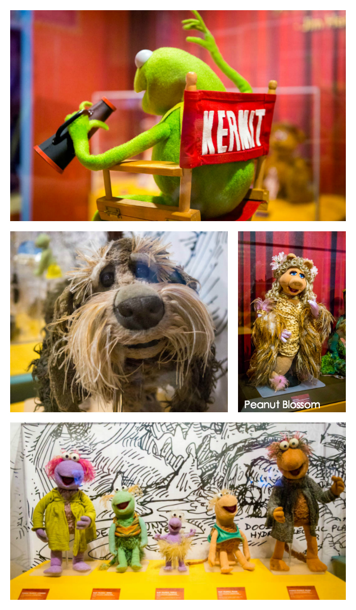 Jim Henson's Collection on display at the Center for Puppetry Arts