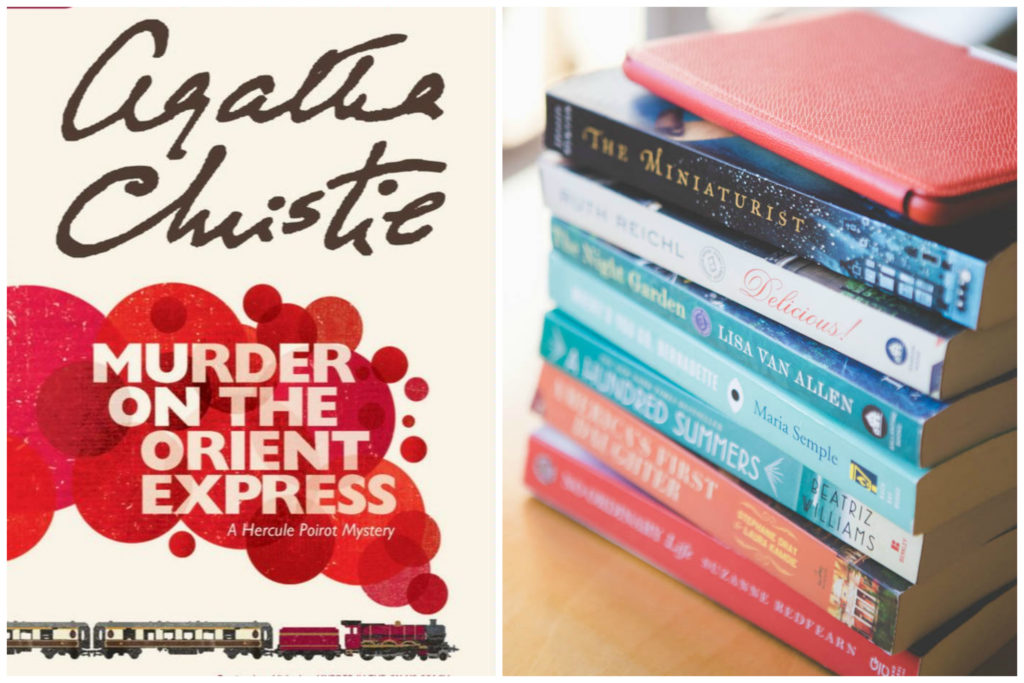 Murder on the Orient Express by Agatha Christie: The October pick for the Peanut Blossom Book Club for Recovering Readers