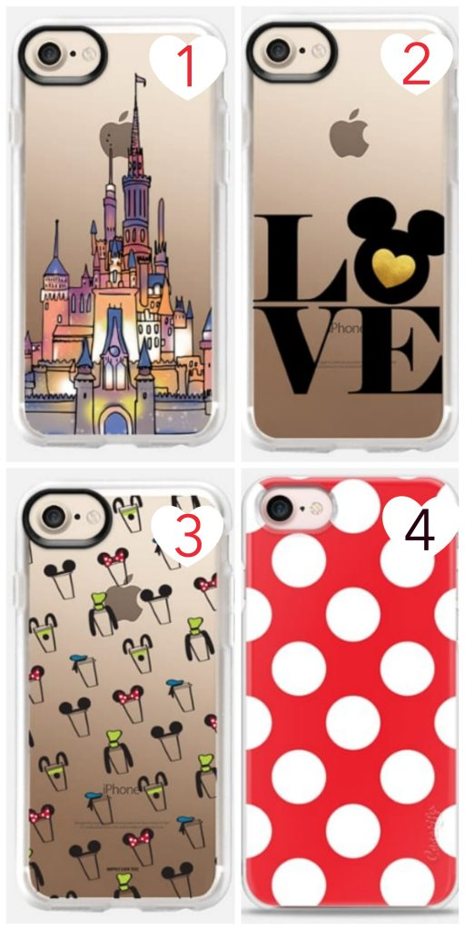 Disney iPhone cases for iPhone 7, iPhone 8, and iPhone X