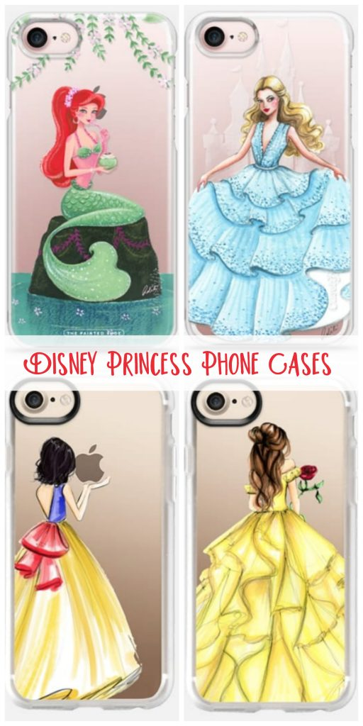 Disney Princess iPhone Cases: Perfect for iPhone 7, iPhone 8, and iPhone X