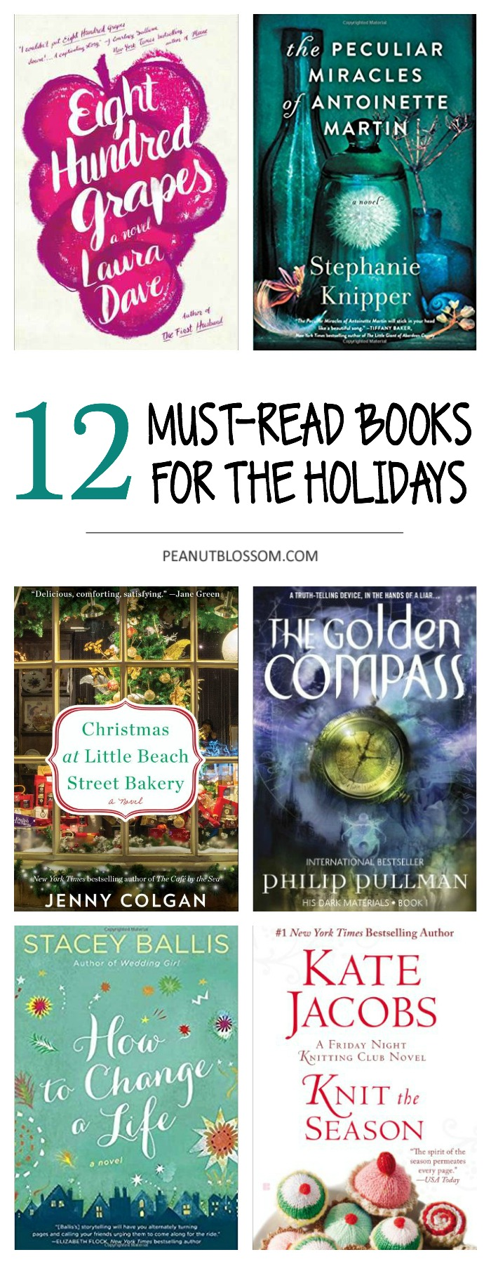 "12 festive books for book club that will make you say ""The To Do List can wait!"""