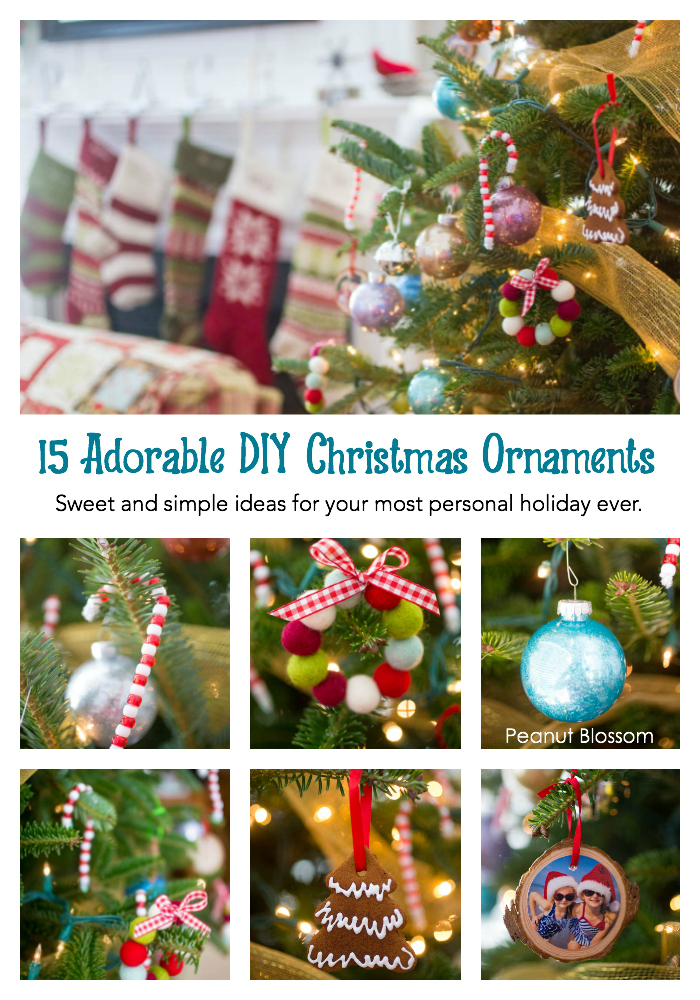 DIY Christmas Ornaments for the sweetest handmade holiday