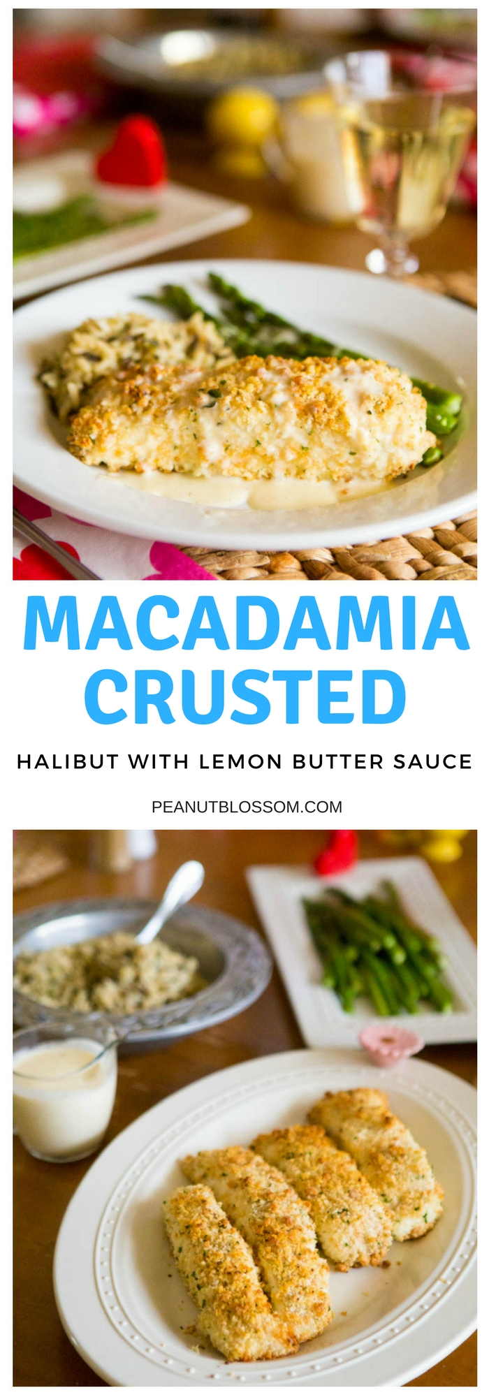 Macadamia crusted halibut with lemon butter cream sauce: 1 of 5 amazing easy halibut recipes