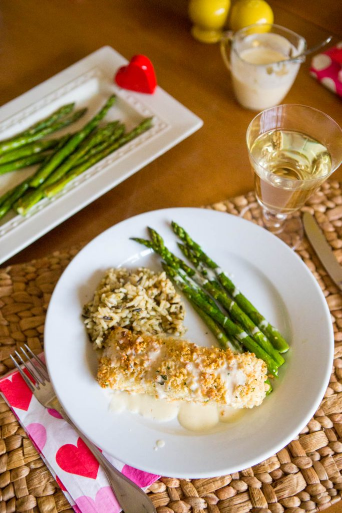 Macadamia crusted halibut with lemon butter cream sauce: 1 of 5 easy halibut recipes