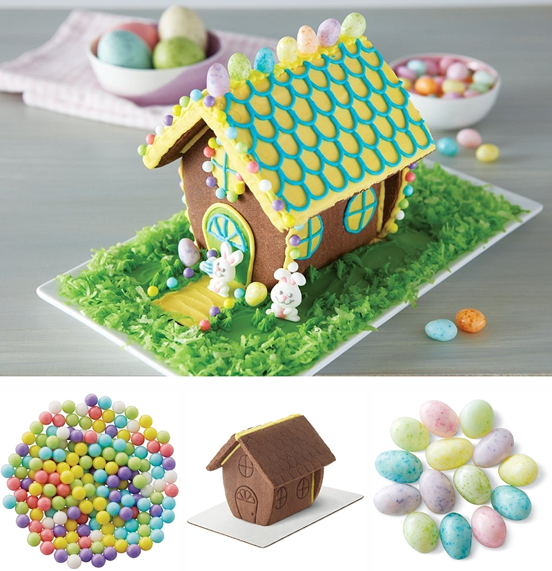 This Bunny Hutch Chocolate Cookie Kit is adorable!